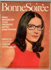 ►BONNE SOIREE 2438/1968 - NANA MOUSKOURI - GRACE KELLY - LILIANE SAINT PIERRE