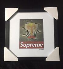 "Supreme X Box Logo Kaws Tweety Wall Art Signed #100/200 ""Rare"" Louis Vuitton"