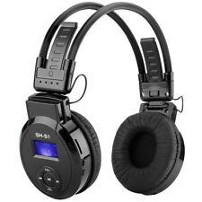Écouteurs Casque Arceau Pliable Lecteur MP3 FM Radio Fente pour Carte TF + FM