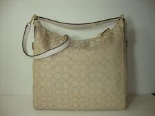 4b5d8a72a6ff Coach Outline Signature Celeste Hobo Shoulder Crossbody Bag Purse Handbag  F58327