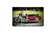 1968 Allstate Bike Motorcycle A4 Photo Poster