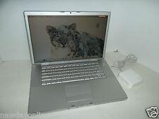 """Apple 15"""" MacBook Pro Intel 2.0GHz 2GB 100GB Bluetooth Wi-Fi DVD±RW WebCAM A1150"""