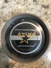 OFFICIAL NHL GAME PUCK DALLAS STARS NEW IN TUBE RARE