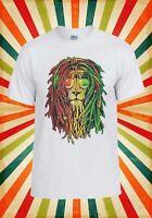 Lion Reggae Music Rasta Funny Cool Men Women Vest Tank Top Unisex T Shirt 1786