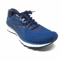 Men's Brooks Ghost 12 Running Shoes Sneakers Size 9.5 US/43 EU Blue White J3