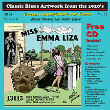 John Tefteller's Blues Images Calendar 2014 + FREE CD Paramount Race Record Art