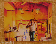 NICOLAS CAGE signed color 8x10 REPRO still '03 running from explosion, Con Air!
