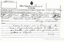 * GIUSEPPE VERDI - Feste I° Centenario 1913 - Alle Poste di Borgo S.Donnino