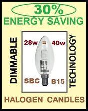 10x 30% RISPARMIO ENERGETICO 28W = 42W REGOLABILE CANDELA LAMPADINE ALOGENE SBC