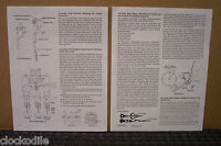 GRANDFATHER CLOCK MOVEMENT INSTALLATION INSTRUCTION MANUAL -- parts repair