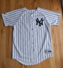 YANKEES Pepitone 25 button-down jersey (BOYS Large) Majestic Genuine Merchandise