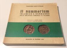HN Sapio Vitranio IL NUMMARIUM islamico e normanno Biblioteca Comunale Palermo R