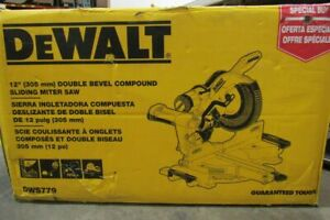 "DeWalt 12"" Double Bevel Sliding Compound Miter Saw DWS779"