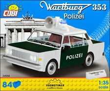 COBI Wartburg 353 Polizei (24558) - 84 elem. - East German police car