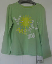 New Mothercare apple green baby girls Top 100% cotton  18-24 months Last one