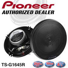 "Pioneer TS-G1645R 6.5"" 2-Way 40W Rms 250W Co-Axial Speaker - FRD"