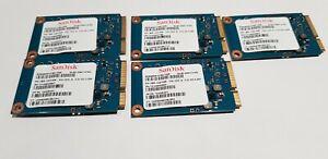 10x Sandisk mSata 16GB SDSA6DM-016G-1006 724426-001 6gbps Joblot/bulk