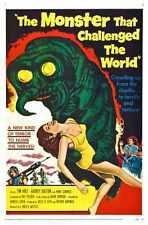 Monstruo que impugnó el mundo Poster 01 A4 10x8 impresión fotográfica