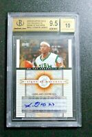💥2003 UD signs of success LeBron James RC AUTO BGS 9.5 not topps chrome fleer