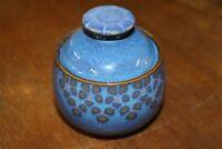 Zuckerdose DENBY Fine Stoneware England handgefertigt MIDNIGHT RAR