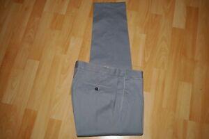 leichte  HILTL    Baumwoll   Stretch  Hose   Gr. 50 taubenblau  Tero