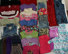 Girls Size 4T Fall Clothes Lot of 34 Items L4-17