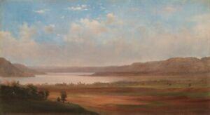 "Robert Seldon Duncanson: ""View of Lake Pepin, Minnesota"" (1862) — Fine Art Print"