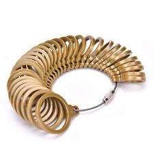 Hot Plastic Finger Ring Sizer Tool Jewelry Measure Gauge Equipment EU 43-74 GT