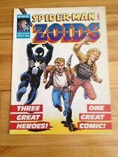 Spiderman And Zoids Magazine # 34