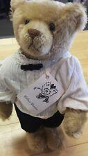 """Billee Henderson Mohair 13"""" Sidney musical Teddy Bear Billee's Beasties OOAK"""