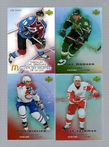 2005 NHL McDonald's Cards Set Singles (Pick any One listed below)