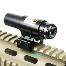 Hunting Mounting Crossbow Red Laser Sight Scope Barrel Clipper mount for Rifle *