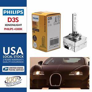 1x PHILIPS HID D3S D3C 42403C1 XENON 42V 35W 4200K Bulb Replace 42403 42302 OEM