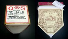 QRS Q.R.S - PIANO MUSIC ROLL CEL-141-B (LIVE) 3 Songs LIBERACE CELEBRITY SERIES