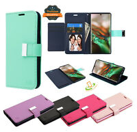 LG K51 Reflect Cards Holder Fold Leather Wallet Flip Dual Phone Case Pouch Cover