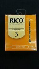 Rico Box of Ten Size 3 Bb Clarinet Reeds RCA1030