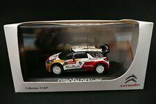 Norev Citroen DS3 WRC Monte- Carlo 2013 Loeb -  Die cast metal car Norev 1:43