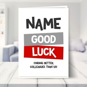 Funny Leaving Card Better Colleagues Sorry You're Leaving Card Work Colleague