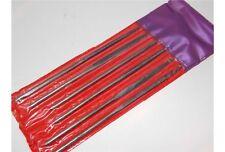 Serie di 6 lime in acciaio x cera legno varie grane e fogge confezione plastica