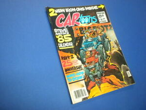 CARTOONS/CAR TOONS magazine 1985 February - Petersen Publishing racing hot rods