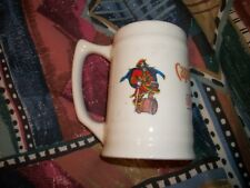 Vintage Captain Morgan Original Spiced Rum Drinking Mug Stein glass pirate