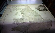 Antique map, Karte von England und Wallis
