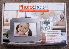 "Photoshare 7d 7"" Widescreen Digital Photo Frame New"