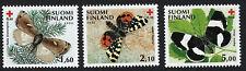 FINLAND :  1992 Red Cross - Butterflies set SG1279-81 MNH