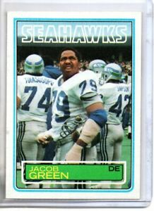 1983 TOPPS JACOB GREEN (NM/MT) ^^