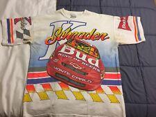 Ken Schrader Adult Large Budweiser VintageNascar