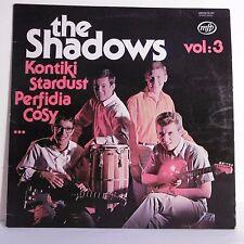 "33T THE SHADOWS Vol.3 Vinyle LP 12"" KONTIKI STARDUST PERFIDIA COSY - MFP 06.247"