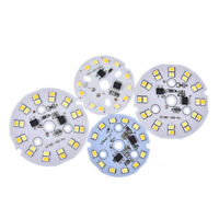 1pc dichroic 3/5/7/9w ac 220v 2835 smd light board led lamp panel for ceiling JB