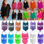 Summer Women Plus Size Push Up Padded Tassel Bikini &Swimwear Cover Up Dress New