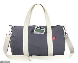 Dark Grey Duffle Bag, Bridesmaid Gift, Groomsmen Gift, Weekender Bag, Travel Bag